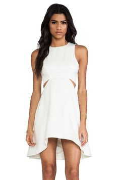 Finders Keepers Call me Dress in Ivory from REVOLVEclothing