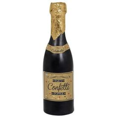 Check out Champagne Bottle Confetti Popper - Confetti & Party Supplies from Birthday In A Box Confetti Poppers, Party Poppers, Bottle Sparklers, Beauty And The Beast Movie, Birthday Box, 75th Birthday, Champagne Bottles, Champagne Party, New Years Decorations