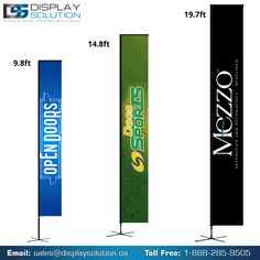 Display Solution offer a more budget-conscious way to promote your business to our outdoor feather Flag banner Stand. Our flags are an eye-catching addition to any indoor or outdoor event. Custom Feather Flags, Custom Flags, Flags For Sale, Door Displays, Banner Stands, Outdoor Flags, Flag Banners, Banner Printing