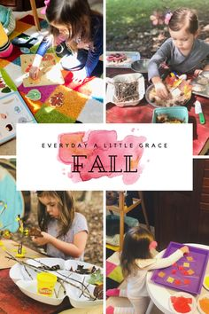 Tot School 2020: Fall 🍁 – Everyday a Little Grace