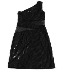 Black sequin dress this one shoulder black sequin dress is absolutely