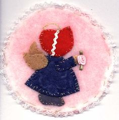 Sunbonnet Sue Angel