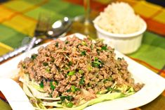 Thai Spicy Beef Salad Larb by The High Heel Gourmet 6