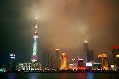 Rain clouds over Shanghai