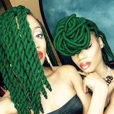 ~Black Girls, Colorful Hair~