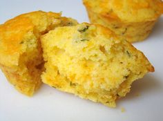 Chedder Jalapeno Cornbread Biscuits - a little dry the next day, but definitely nice and spicy