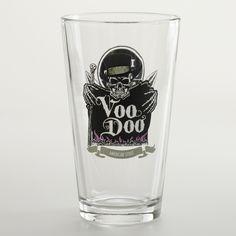 Left Coast Voo Doo Pint Glasses, Set of 2 | World Market