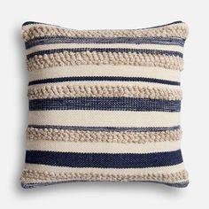 Magnolia Home Zander Navy & Ivory Oversized Pillow