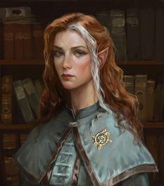 Image Painting, Painting & Drawing, Fantasy Characters, Fictional Characters, Elves, Princess Zelda, Deviantart, Portrait, Artist