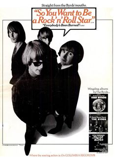 The Byrds, Billboard Magazine Advertise (1967)
