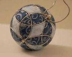 Christmas ornament Kimekomi