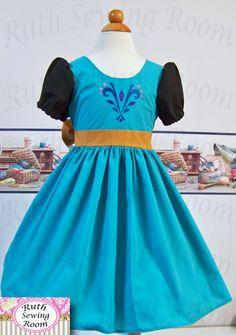 Custom sizes 12m 12 years Elsa Frozen by RuthSewingRoomDesign, $59.95