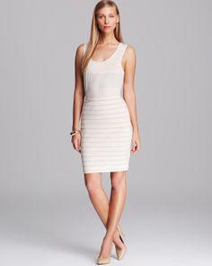 Joan Vass Shell & Striped Skirt | Bloomingdale's Keep office chic in Joan Vass. Shop Joan Vass at Bloomingdales. #Fashion #OfficeFashion #WomensFashion #Bloomingdales