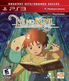 Ni no Kuni: Wrath of the White Witch - PlayStation 3 Standard Edition Ni No Kuni, Playstation Store, Playstation Games, Ps3 Games, Games Box, La Quete, Sony, Latest Video Games, Professor Layton