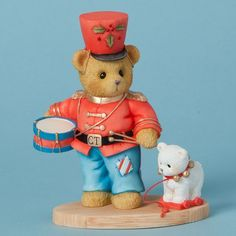 Cherished Teddies ~ Marching Toward a Merry Christmas