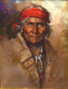 Geronimo by Harley Brown - The Eddie Basha Collection
