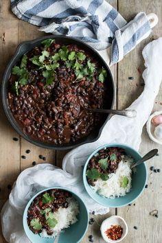 Columbian Black Bean Stew