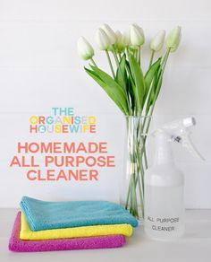{The Organised Housewife} Homemade All Purpose Cleaner copy