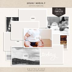 pictures & words no. 4 by paislee press