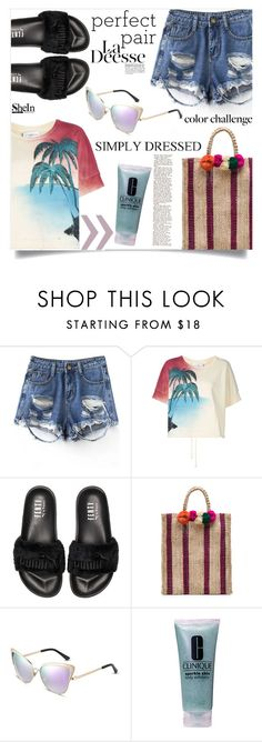 """Mar Y Sol"" by violet-peach ❤ liked on Polyvore featuring Faith Connexion, Puma, Kayu and Clinique"