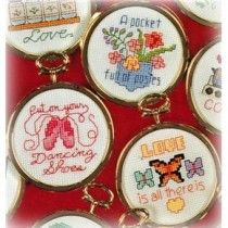 101 Cross Stitch Patterns Warm Fuzzy Sayings Phrases & Sentiments