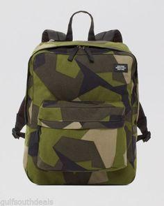 Designer Gifts for Him: Jack Spade Men's Gifts Modern Mens Fashion, Camo Fashion, Men's Fashion, Jack Spade, Airsoft Girls, Camouflage Backpack, Camo Bag, Orange, School Bags