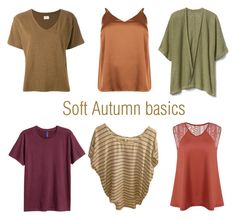 Soft Autumn basics by glirendree on Polyvore featuring moda, Simon Miller, Gap, Joie and H&M