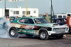 Old Pro Stock Race Cars - Bing images Funny Car Drag Racing, Nhra Drag Racing, Funny Cars, Auto Racing, Plymouth Muscle Cars, Vintage Race Car, Drag Cars, Car Humor, Fast Cars