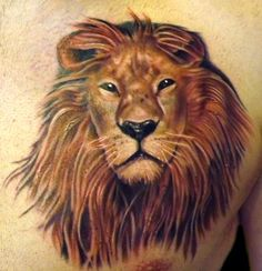 Marvin Silva - Lion Tattoo