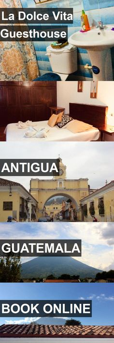 Hotel La Dolce Vita Guesthouse in Antigua, Guatemala. For more information, photos, reviews and best prices please follow the link. #Guatemala #Antigua #travel #vacation #hotel