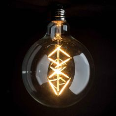 G125 Filament Trilateral - Vintage LED