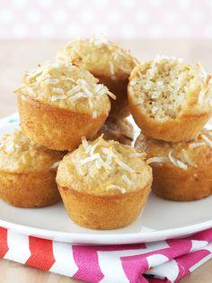 Coconut Mini Muffins   The Breakfast Drama Queen