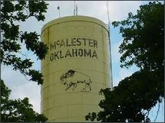 McAlester Oklahoma - The history is rich in McAlester. I knew the family... Barely nothing now.