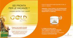 Gold 20 Inphinity ricostruzione capelli - Centro estetico Roma - Dimensione Bellezza