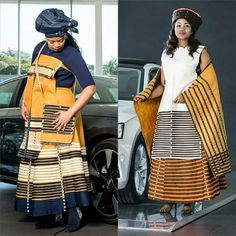 Couples African Outfits, Latest African Fashion Dresses, African Dresses For Women, African Print Dresses, South African Traditional Dresses, Traditional Outfits, Traditional Wedding, Xhosa Attire, African Attire