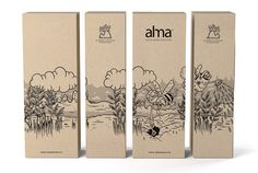 Alma Gin&Tonic Herbal Infusions on Packaging of the World - Creative Package Design Gallery