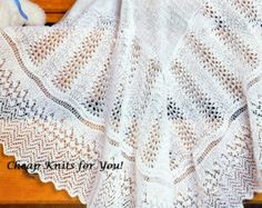 Vintage Knitting Pattern - Baby Shetland 1 ply Lace Baby Shawl 56 x 56 INSTANT DOWNLOAD [N054]: To purchase this pattern all you have to do is submit payment and it will be available for instant download. You will require Adobe reader to open this format, which is a free download from the Adobe website.
