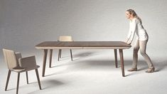 Stare In Awe as This Transforming Table Grows an Extra Three Feet In Mere Seconds