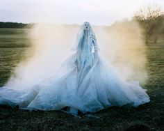 Kristen McMenamy by Tim Walker /Sunday Times Style September 2013