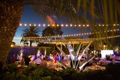 twinkle lights, outdoor reception, tuscany, dancing under the stars, wedding