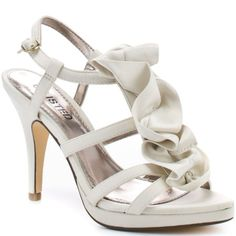Ivory Fabric Wedding Shoes For Bride Jcpenney