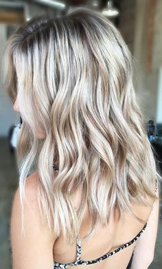cool champagne blonde                                                       …