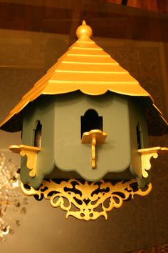 BIRD HOUSE HAND-MADE BY JOSEPH A. YOUSSEF.