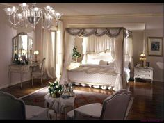 King size bed with airy canopy. 15 Dreamy Bedrooms Canopy Beds - Always in Trend | Always in Trend