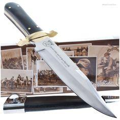 Rough Rider RR-470 Teddy Roosevelt Bowie Knife w/ Sheath | MooseCreekGear.com | Outdoor Gear — Worldwide Delivery! | Pocket Knives - Fixed Blade Knives - Folding Knives - Survival Gear - Tactical Gear