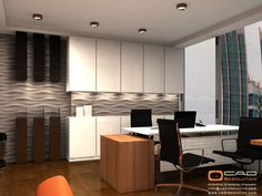 Architectural Modern Office Interiors Designs Services   CAD Resolution