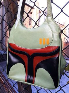 Boba Fett Handbag What I wouldn't give for this!!!!!