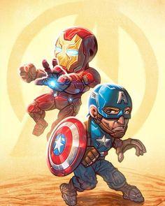 Inspired by the Margot Robbie version. Iron Man Hd Wallpaper, Chibi Wallpaper, Captain America Wallpaper, Iron Man Captain America, Iron Man Song, Hd Cool Wallpapers, Hero Movie, Batman Vs, Superhero