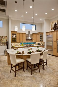 Toll Brothers - Kitchen..THE OPEN FLOOR PLAN INCLUDES 3EATING AREAS,A FORMAL DINNINGROOM,AND A SPACIOUS KITCHEN ISLAND/COUNTER &BREAKFAST AREA IN THE REAR OF THE HOME W/THW FAMILYROOM. THERE R 2STORY & 13ft CEILINGS THRUOUT. 'Cherie