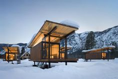 Serene location, modern camping experience